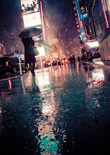Photo: First hurricane Sandy and now a nor'easter... this is going to be a long winter!  #newyorkcity  #timessquare  #treyslightroompresets