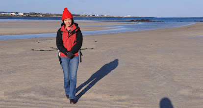 Photo: We enjoyed walking on the beach taking photographs of each other.