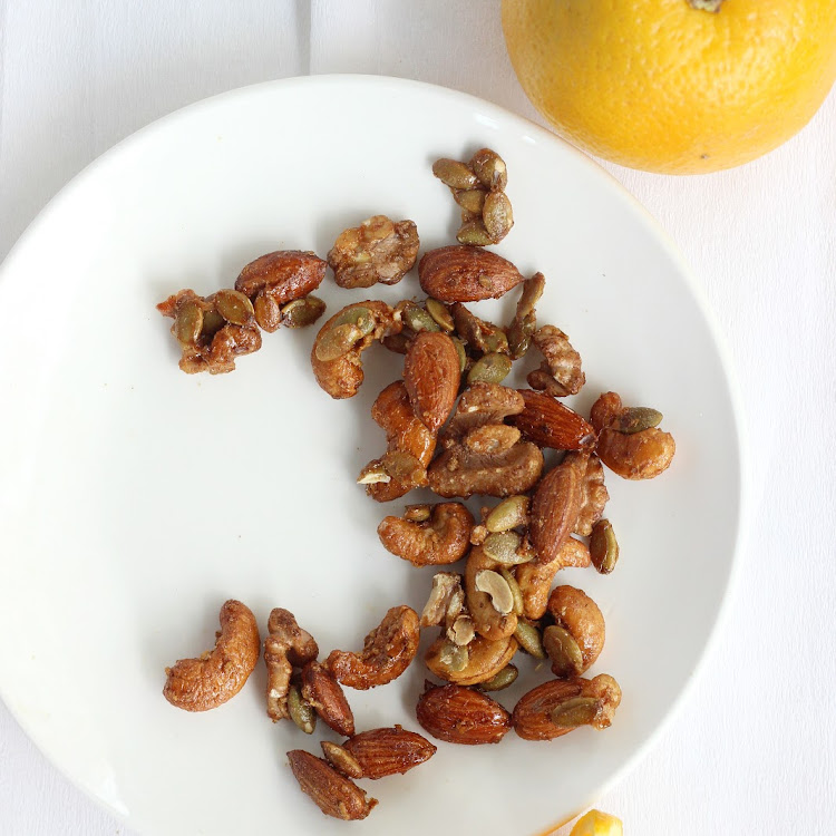 Zesty Maple Glazed Nuts (120g)