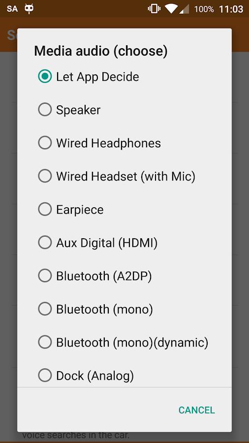 SoundAbout Pro- screenshot