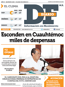 Diario DF screenshot 2