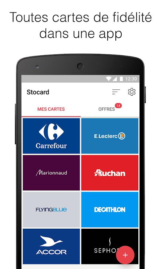 Stocard carte de fid lit applications android sur - Carte de fidelite auchan fr ...
