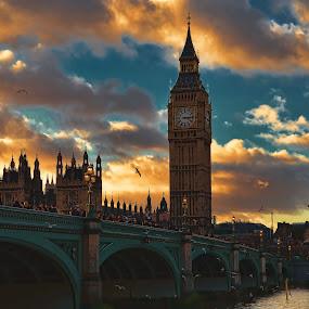 Big Ben by Becky Wheller - Travel Locations Landmarks ( pwclandmarks )