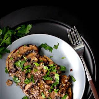 Mushrooms on Sourdough Toast, 15-minute breakfast.