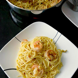 Pasta Carbonara with Shrimp and Leeks #Recipe