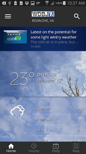 WDBJ7 Weather & Traffic screenshot