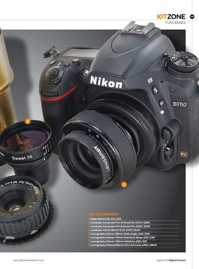 Digital Camera World- screenshot