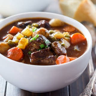 Slow Cooker Guinness Beef Stew.