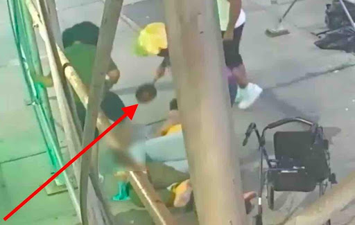 Thugs brutally beat up 61-year-old woman who needs walker to get around — even bash her with cooking pot. Oh, and they ripped off her walker, too.