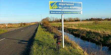 Photo: Arrivant en Loire-Atlantique, vers Machecoul