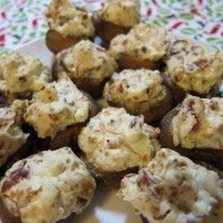 Cheese Stuffed Mushrooms.
