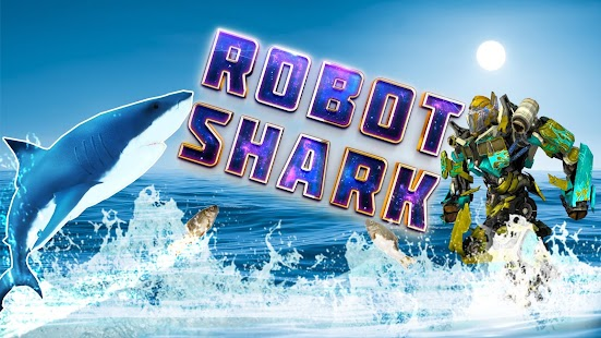 Robot Shark Attack Game 2018 : Angry Shark Games - náhled