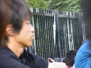 Photo: か、傘っ?!