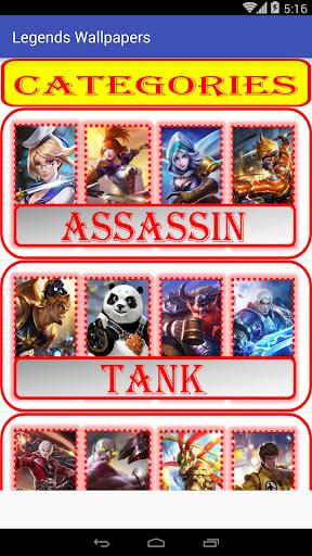 Hero and Skin Mobile Legends Wallpaper  screenshots 1