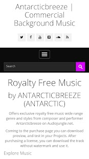 Royalty Free Music- screenshot thumbnail