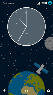 Space Theme Screenshot