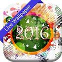 3D New Year Live Wallpaper icon