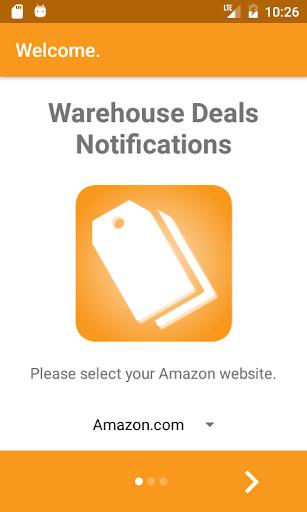 Warehouse Deals Notifications 1.2.4 screenshots 5
