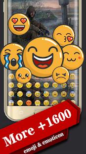 Templar Warrior Emoji Keyboard - náhled