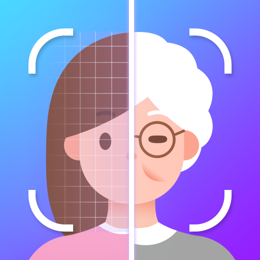 HiddenMe -Face Aging App, Palm Reader, Old Face Icon