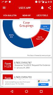 USCIS Case Status - náhled
