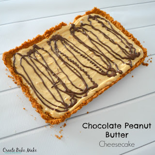Chocolate Peanut Butter Cheesecake and a Giveaway!