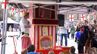 Photo: WITH MR PUNCH DOING WHAT HE LIKES
