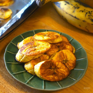 Baked Sweet Plantains.