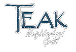Logo for Teak Neighborhood Grill