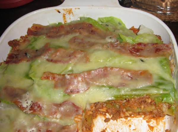 Ground Beef And Cabbage Casserole Recipe