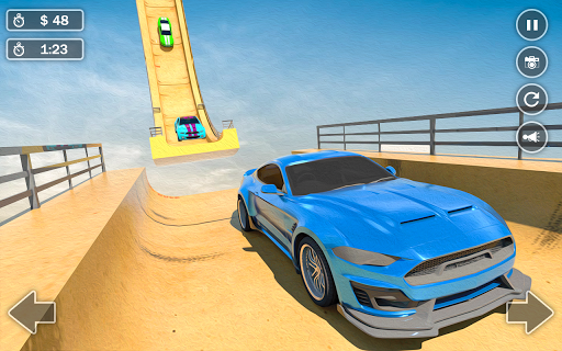 Mega Ramp Car Simulator u2013 Impossible 3D Car Stunts apkpoly screenshots 3
