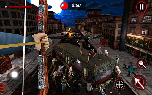 Archer Hunting Zombie City Last Battle 3D 1.0.4 screenshots 8