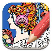Free Adult Coloring: Fashion