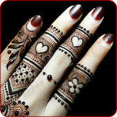 Finger Mehndi designs