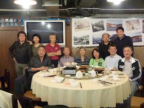 Photo: Dinner at 東大街 in Sau Ki Wan. Gerald Wan & Kitty just arrived from Sydney.