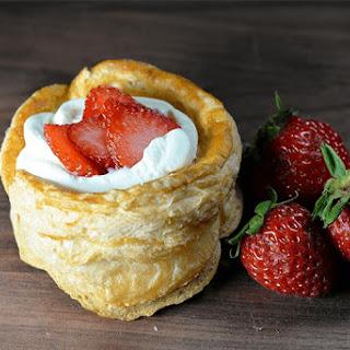 Strawberry Vol-Au-Vent Dessert