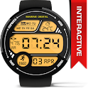 Marine Digital Watch Face icon