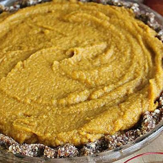 Raw Pumpkin Pie [Vegan]