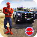 Cop Cars Superhero Stunt Simulator icon