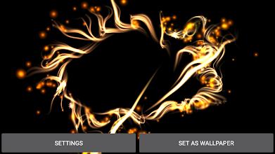Magic Particles Live Wallpaper screenshot thumbnail