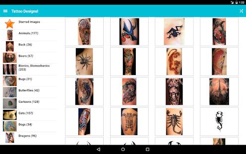 Tattoo Designs! – миниизображение на екранната снимка