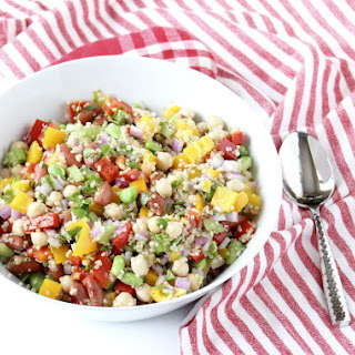 3 Bean Quinoa Salad.