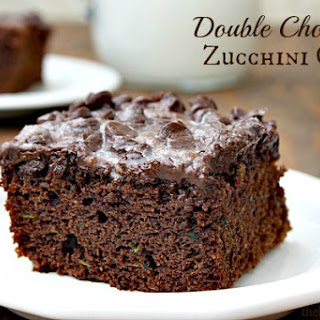 Double Chocolate Zucchini Cake.