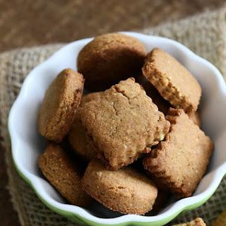 Vegan Gluten free Shortbread Cookies.