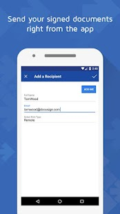DocuSign - Upload & Sign Docs- screenshot thumbnail
