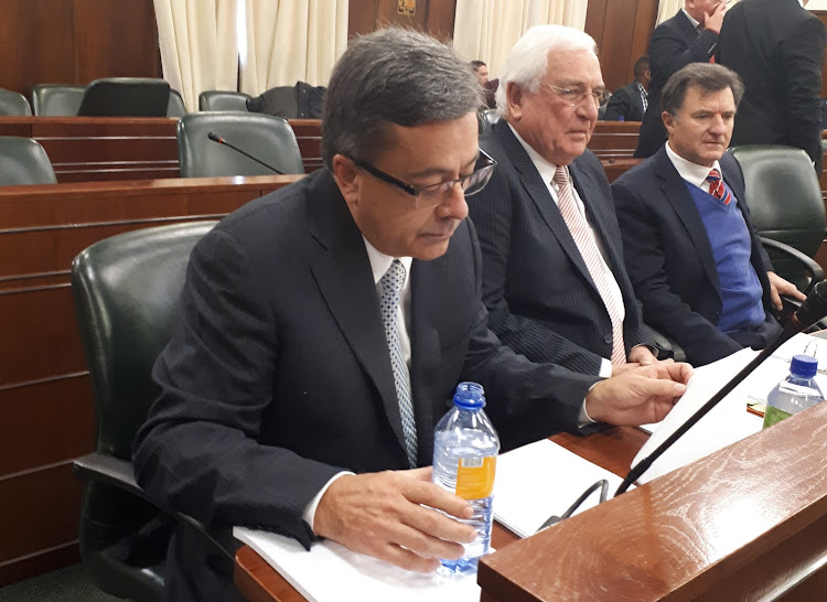 Former Steinhoff CEO Markus Jooste appears in parliament on September 5 2018. Picture: LINDA ENSOR