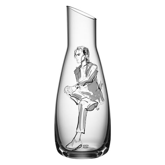 Kosta Boda All About You Him Carafe 100ml