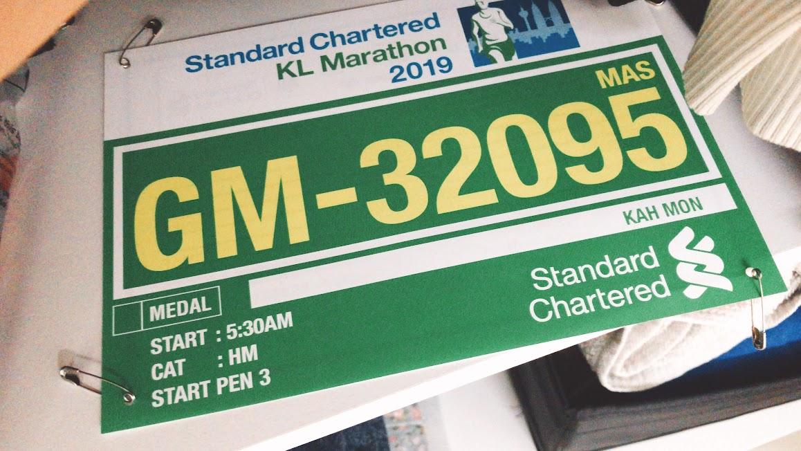KLSCM 2019 | Half Marathon Bib | iamkahmon