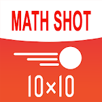 Math Shot Multiplication Tables Icon