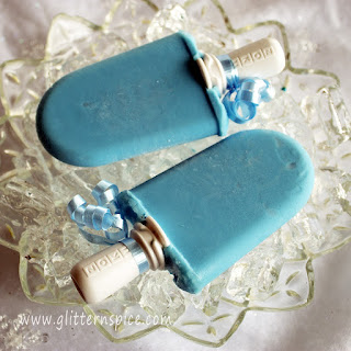 Disney Frozen Inspired Cotton Candy Popsicles